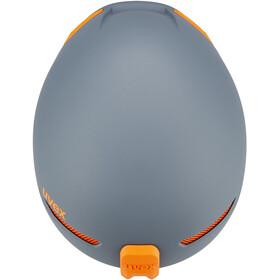 UVEX JAKK+ - Casco de bicicleta - gris/naranja